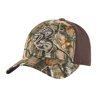 Legendary Whitetails Men's Tree Bark Big Game Camo Distressed Buck Cap
