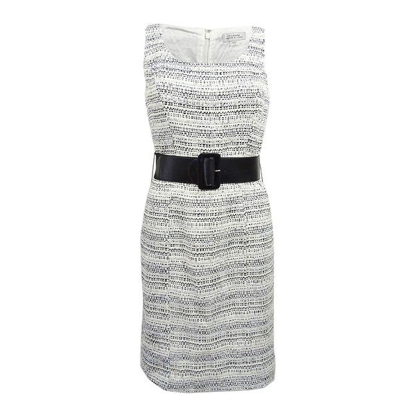 60dd2cb2 Shop Tahari ASL Women's Belted Boucle Sheath Dress - On Sale - Free  Shipping Today - Overstock - 25447617