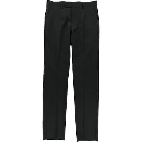 Vince Camuto Mens Textured Dress Pant Slacks - 31W x UnfinishedL