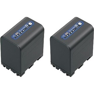 Sony NP-QM91D M Series Info-Lithium Battery 2 Pack (7.2v, 4140mAh)