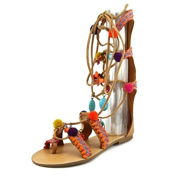 Mia Reanna Women Open Toe Synthetic Multi Color Gladiator Sandal