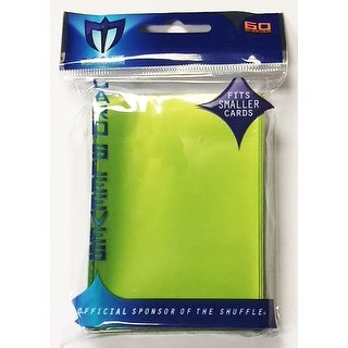 LIME GREEN 60 SLEEVES DECK PROTECTOR SMALL