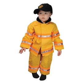 Jr. Firefighter Costume with Hat, 18 months - 17.0 in. x 12.0 in. x 1.0 in.