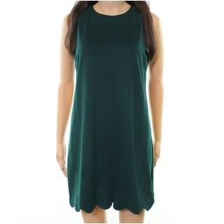 Love... Ady Women's Medium Scalloped-Hem Shift Dress