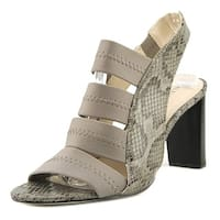 Alfani Womens RENNATAH Leather Open Toe Casual Strappy Sandals