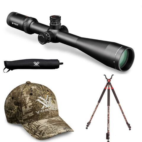 Vortex VHS-4325 Viper HS-T 6-24x50 Riflescope (MOA) and Hunting Bundle