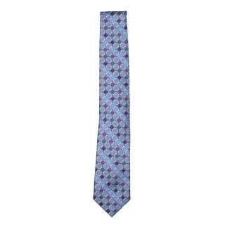 Unlisted Kenneth Cole Mens Geo City Neck Tie Classic Printed - o/s