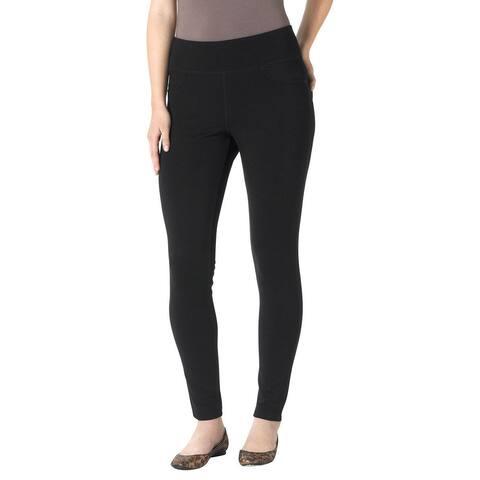 Jag Jeans Women's Plus-Size Ricki Ponte Legging, Black SIZE 16W