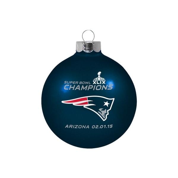 New England Patriots Super Bowl XLIX Champions Small Ornament