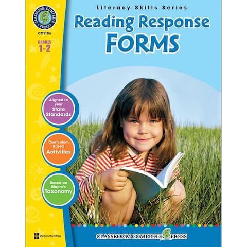 (3 Ea) Reading Response Forms Grs 1-2