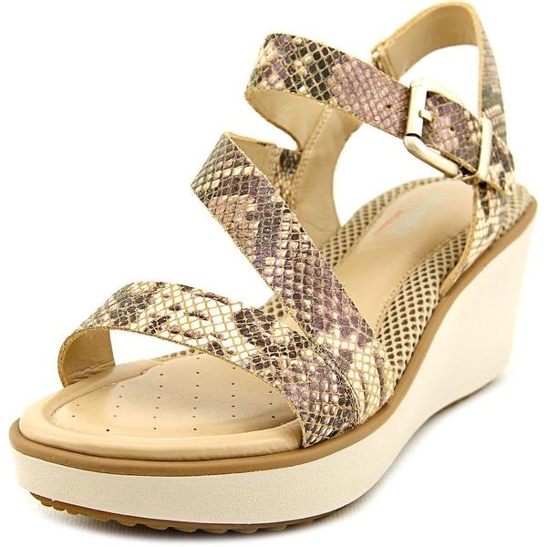 Easy Spirit Isandra Women  Open Toe Synthetic  Wedge Sandal