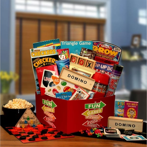 More Fun & Games Gift Box. Opens flyout.