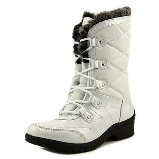 Khombu Avon Women  Round Toe Synthetic White Snow Boot