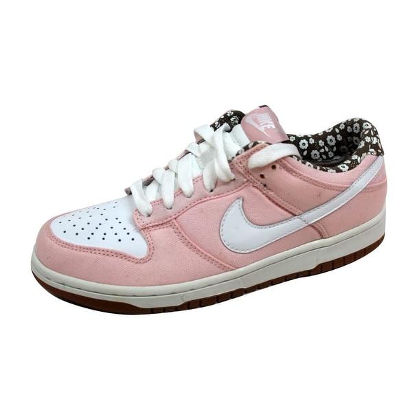 Nike Women's Dunk Low CL Light Coral/White-Olive Khaki 317815-811