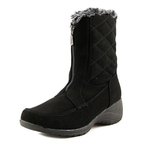 Khombu Angie Women Black Snow Boots