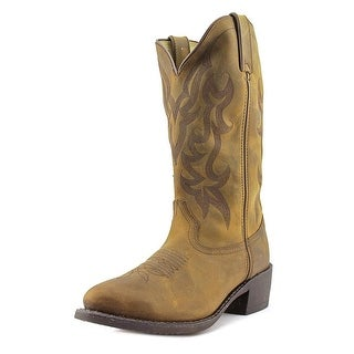 Durango DB922 Men  Round Toe Leather Tan Western Boot