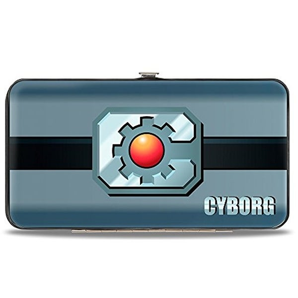 Buckle-Down Hinge Wallet - Cyborg