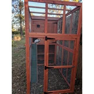 TRIXIE Wooden Outdoor Cat Run