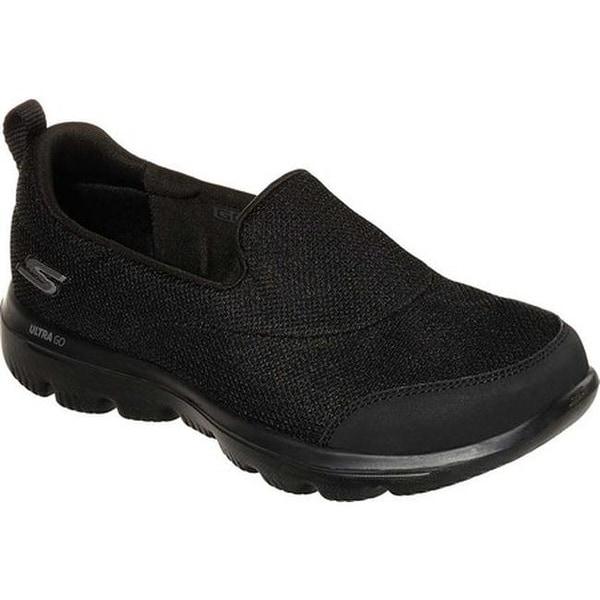bda8429e16acc Skechers Women's GOwalk Evolution Ultra Reach Slip-On Shoe Black/