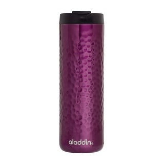 Aladdin 10-02309-019 Insulated Double Wall Tumbler, Stainless Steel, Purple, 16 Oz