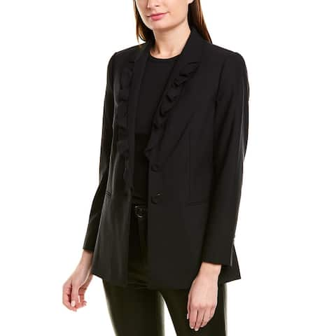 Rebecca Taylor Suiting Wool-Blend Jacket