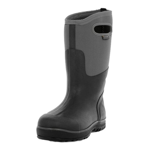 Bogs Boots Mens Ultra Cool Tech Tall Waterproof Black Gray