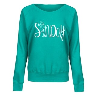 Sundaychampagne-Ladies Lightweight French Terry Pullover