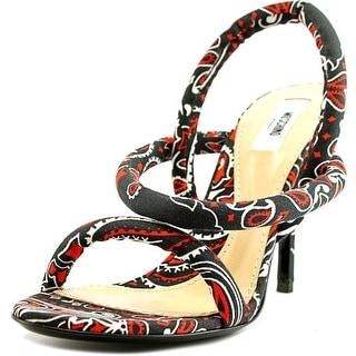 Moschino MA1601AC1KMI0000   Open Toe Canvas  Sandals