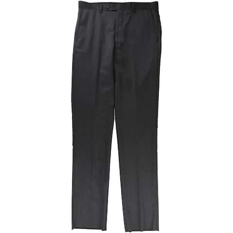 Vince Camuto Mens Stripe Dress Pant Slacks - 33W x UnfinishedL