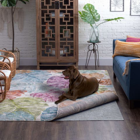 Spill-Proof Pet-Friendly Felt Under Rug Pad by Mohawk Home - Grey