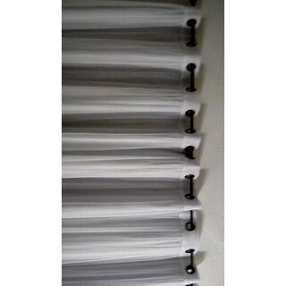 InStyleDesign Modern Orb Adjustable Curtain Rod