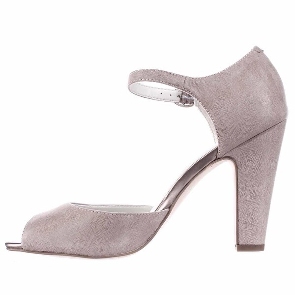 Anne Klein Womens Henrika Peep Toe Ankle Strap D-orsay Pumps