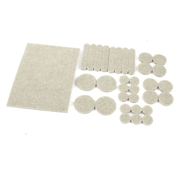 Furniture Table Chair Leg Self Adhesive Felt Floor Protectors Pads 66 Pcs Free Shipping On Orders Over 45 18504562