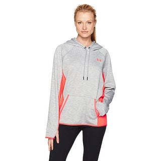 Under Armour Women Storm Water Resistant Cold Gear Fleece Loose Hoodie-Twist