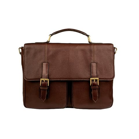 Scully Western Workbag Double Quick Release Buckle Chocolate - One Size
