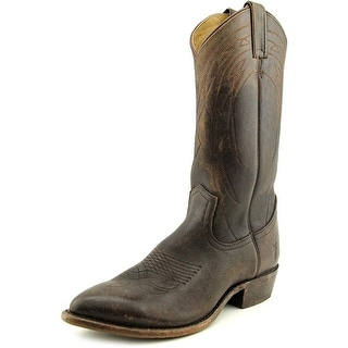 Frye Billy Pull On Pointed Toe Leather Western Boot