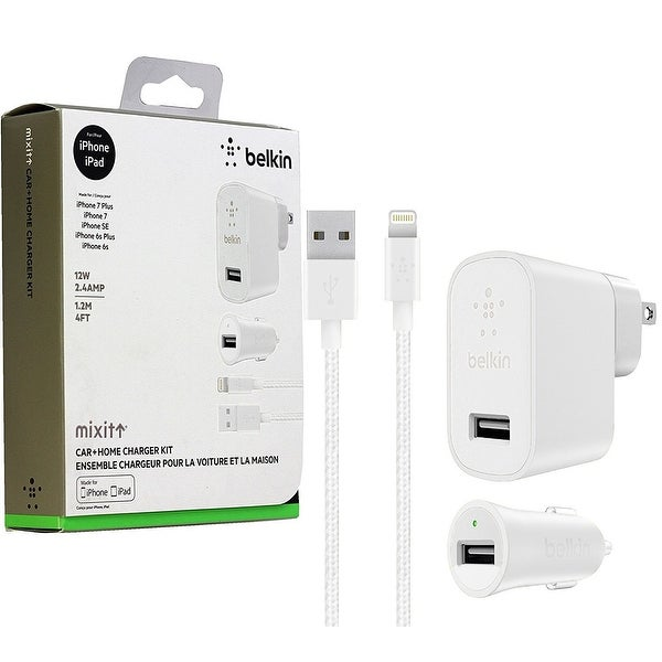 Shop Belkin Charger Home and Car Kit for iPhone & iPad