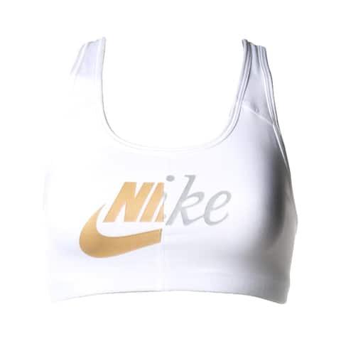 Nike Womens Sports Bra Training Medium Support - White