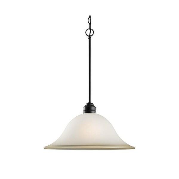 Sea Gull Lighting 65850-782 Gladstone 1-Light Pendant Heirloom Bronze Finish - Bronze Finish