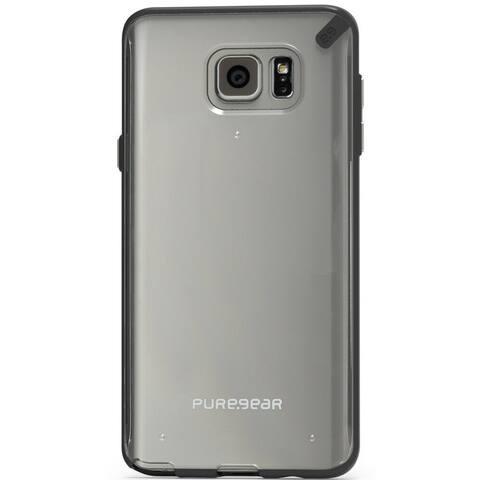 PureGear Slim Shell Case for Samsung Galaxy Note 5 - Clear/Black