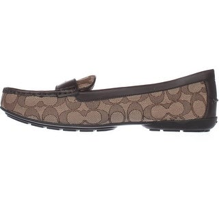 Coach Womens Odette Almond Toe Loafers