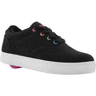 Heelys Children's Launch Sneaker Black/Rainbow Metallic
