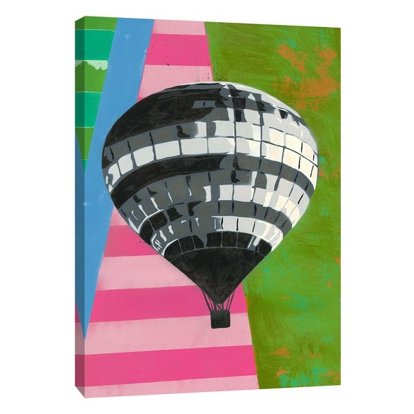 "PTM Images 9-105944 PTM Canvas Collection 10"" x 8"" - ""Hot Air Balloon"" Giclee Abstract Art Print on Canvas"