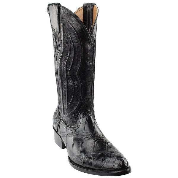 ed4d09d89db Shop Ferrini Mens American Belly Alligator Round Toe Western Boots ...