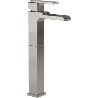 Delta 768LF  Ara 1.2 GPM Single Hole Waterfall Bathroom Faucet with Riser
