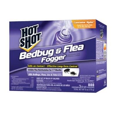 Hot Shot HG-95911 Bedbug & Flea Fogger, 2 Oz