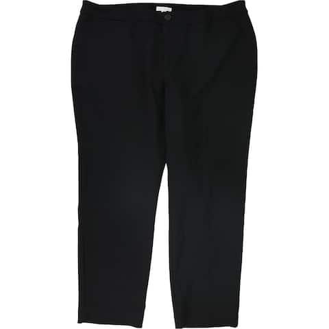 Charter Club Womens Solid Dress Pants