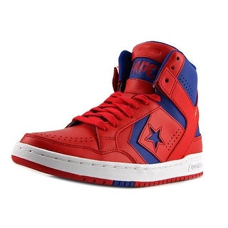 Converse Weapon Mid Round Toe Leather Sneakers