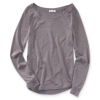 Link to Aeropostale Womens Solid Raglan Sweatshirt Similar Items in Loungewear