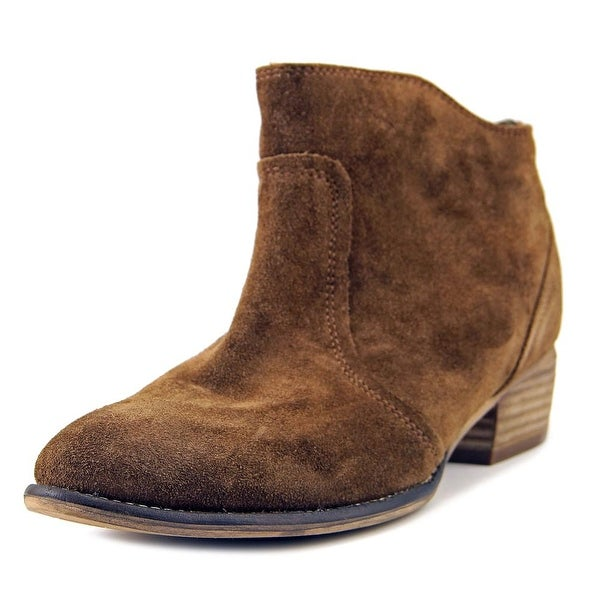 Seychelles Reunited Women Pointed Toe Suede Tan Bootie